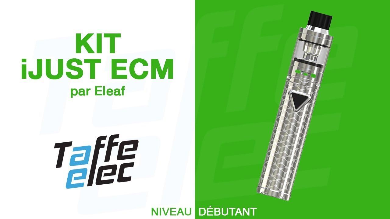 ELEAF - KIT IJUST ECM (PRÉSENTATION)