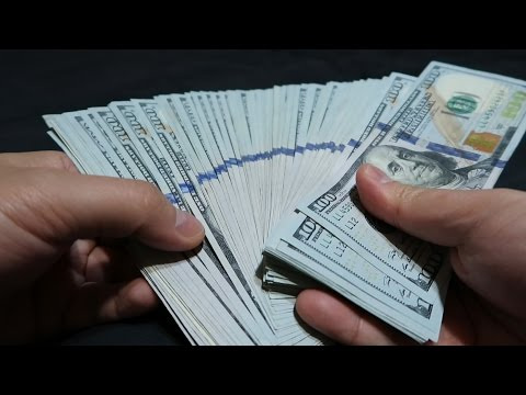 Download Youtube: [ASMR Hype] Counting over $10,000 Cash