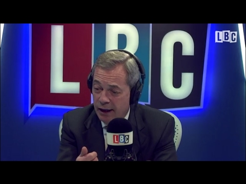 NEW - The Nigel Farage Show - Refugee - Immigration Debate - LBC Exclusive - 09/02/2017
