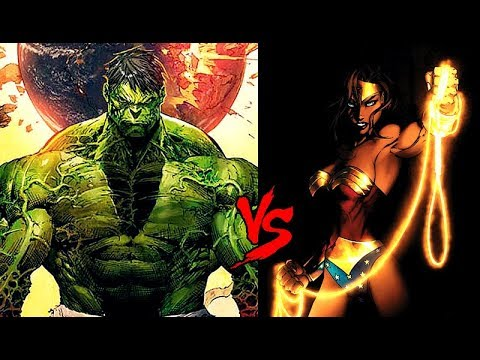Wonder Woman vs. World War Hulk : Full Analysis