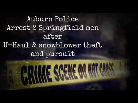 Springfield men arrested after chase from Auburn Mall - News