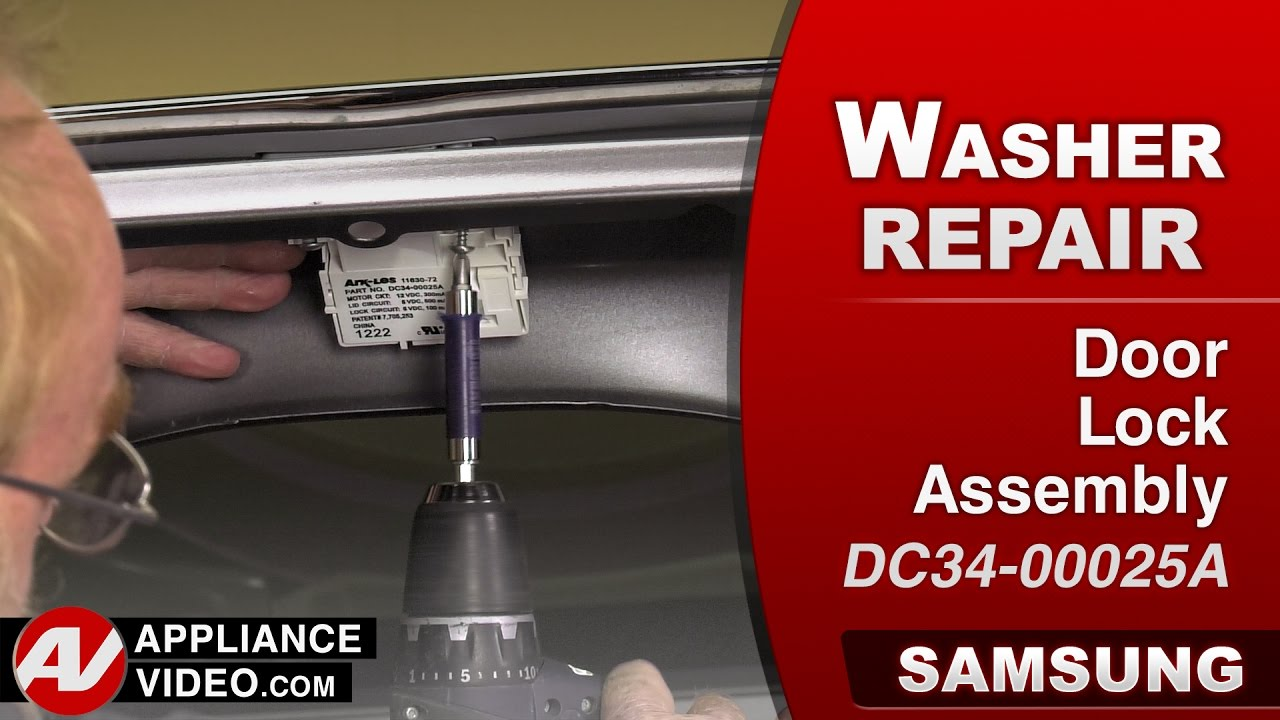 Samsung Washer Will Not Lock Door Lock Assembly Repair Diagnostic Youtube
