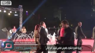 مصر العربية | وزيرة الهجرة تشارك بالعرض الخاص لفيلم