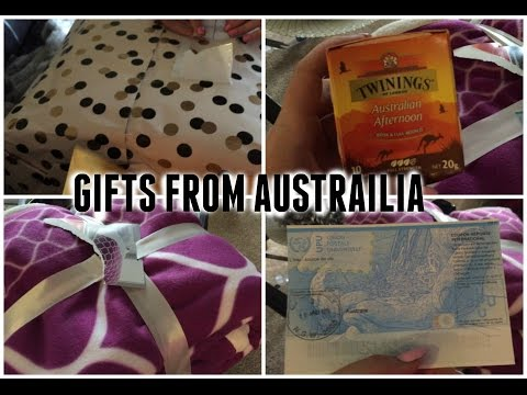 GIFTS FROM AUSTRALIA! 5/6/15