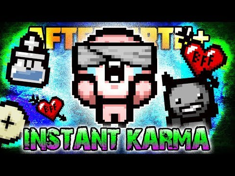 Instant Karma Challenge - Custom Afterbirth+ Challenge