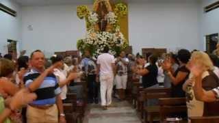Festa de Santo Antônio 2013. Momento da entrada do andor de Santo Antônio