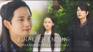 Video The King Loves 왕은 사랑한다 (EP 39-40) Final Episode End Scene | San Says Goodbye To Won download MP3, 3GP, MP4, WEBM, AVI, FLV April 2018