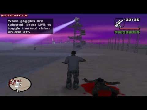 GTA San Andreas - Mission #71 - Black Project (HD)