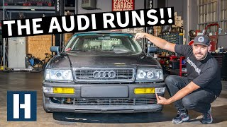 Audi Coupe Quattro's Revival: Scotto Gets to Work!