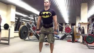 Становая тяга, 90 кг