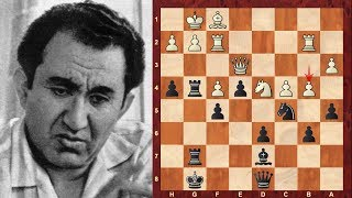 Tigran Petrosian Top 22 Amazing Chess Sacrifices! – 9th World Chess Champion 1963–1969
