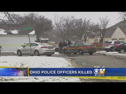Police: 2 Officers Killed Responding To 911 In Ohio