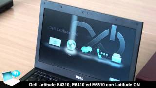 Dell Latitude E4310, E6410 ed E6510 con Latitude-ON