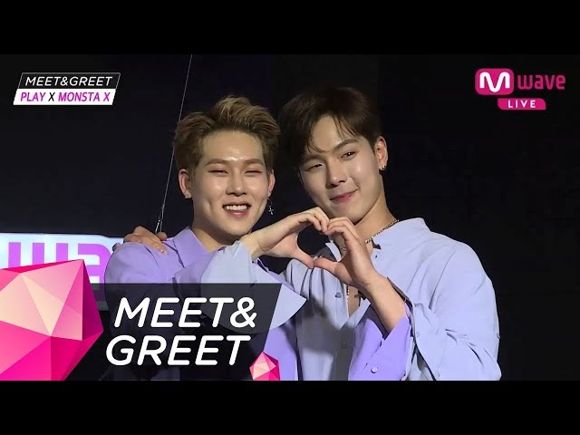 [MEET&GREET] First ever!  SHOWNU and JOOHEON's collaboration!