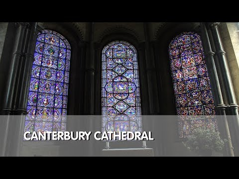Tour of Canterbury Cathedral & Gift Shop