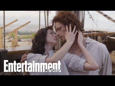 Outlander Is Back! TV's Sexiest Couple Reunite For Season 3  Cover Shoot  Entertainment Weekly