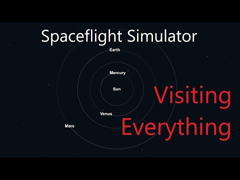 Spaceflight Simulator - Single Launch to Everywhere