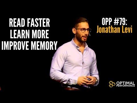 Super Learner Jonathan Levi on Learning, Memory, Speed Reading