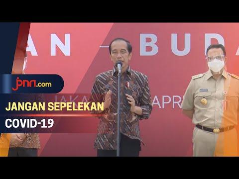 Tren Covid-19 Sudah Menurun, Jokowi: Jangan Lengah Dulu