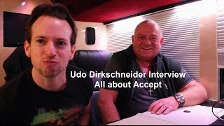 Udo Dirkschneider Interview - All about Accept (English Subtitles)