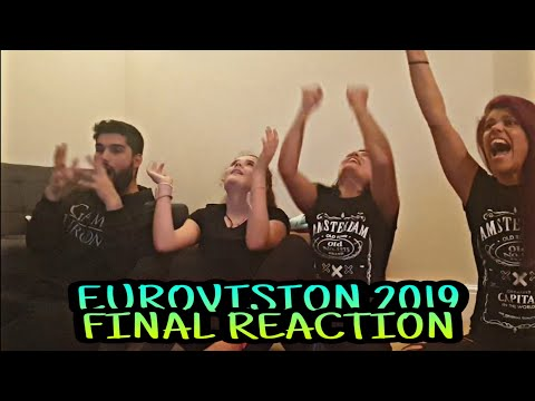 Eurovision 2019 Final - Reaction to Winner Announcement (The Netherlands)