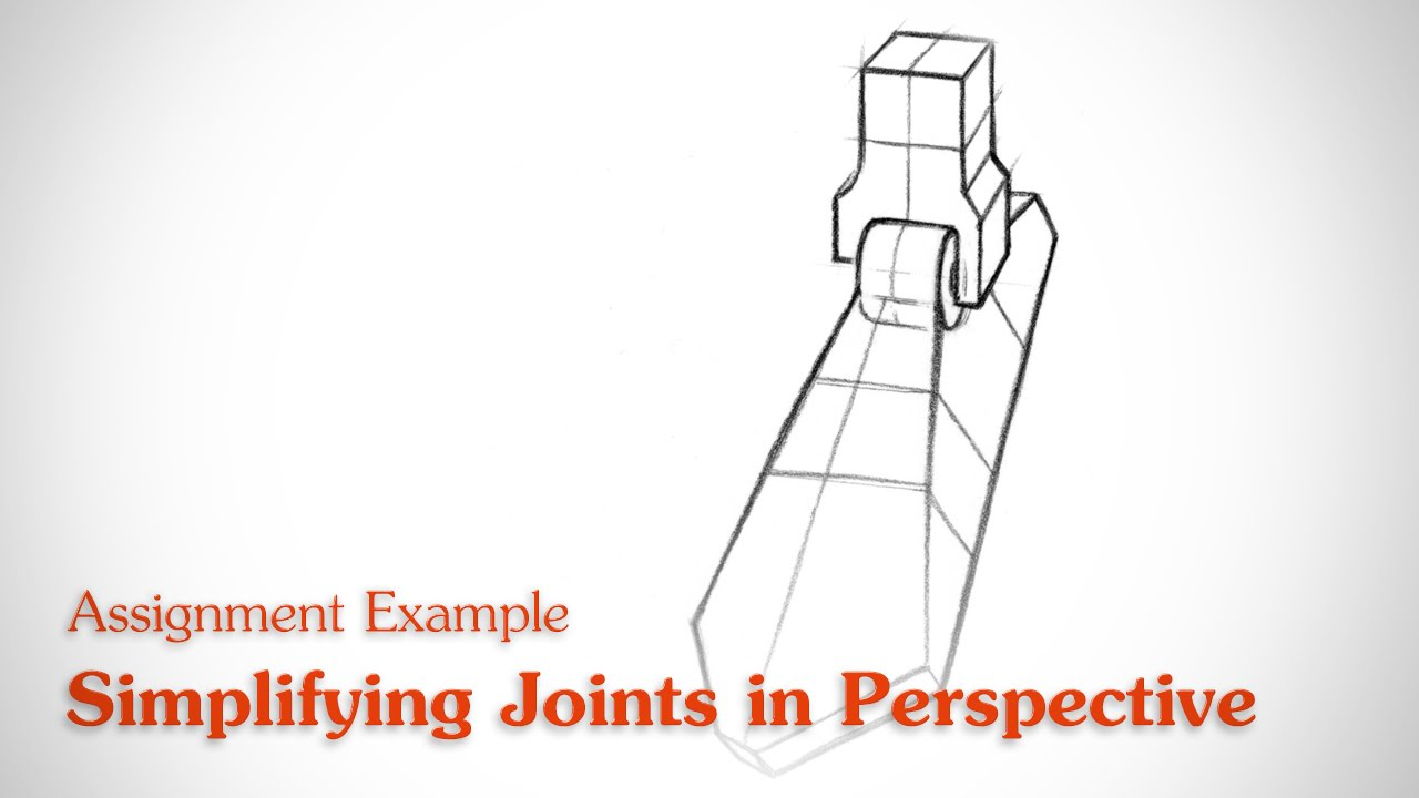 Simplifying Joints In Perspective Human Anatomy Youtube
