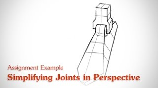 Simplifying Joints In Perspective - Human Anatomy