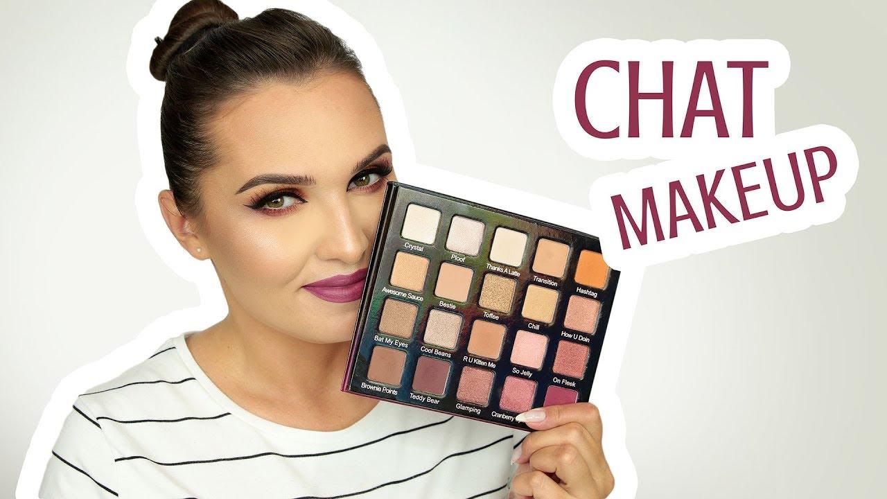 ♥ CHAT MAKEUP | Violet Voss, Huda, Viseart, Sephora Collection ♥