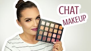 ♥ CHAT MAKEUP | Violet Voss, Huda, Viseart, Sephora Collection ♥