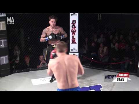 IMPACT FIGHT UK 6 - Andrew Dennis vs Aleksandras Reinis