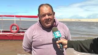 Dinara detectó la presencia de cianobacterias en el Arroyo de Valizas