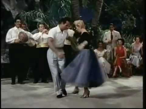 A Dance Lesson!  Ricardo Montalban, Lana Turner, Rita Moreno