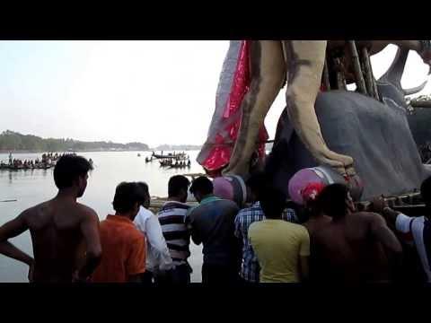 Chandannagar Jagatdhatri Puja Bisorjon @ 2013