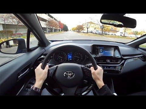 2018 Toyota C-HR XLE Premium - POV Test Drive (Binaural Audio)