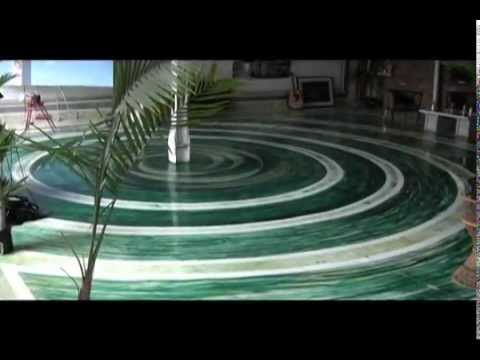 Beautiful Floors Epoxy Glass Youtube