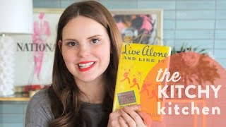 Vintage Cookbooks: Live Alone and Like It // Up Close with Claire
