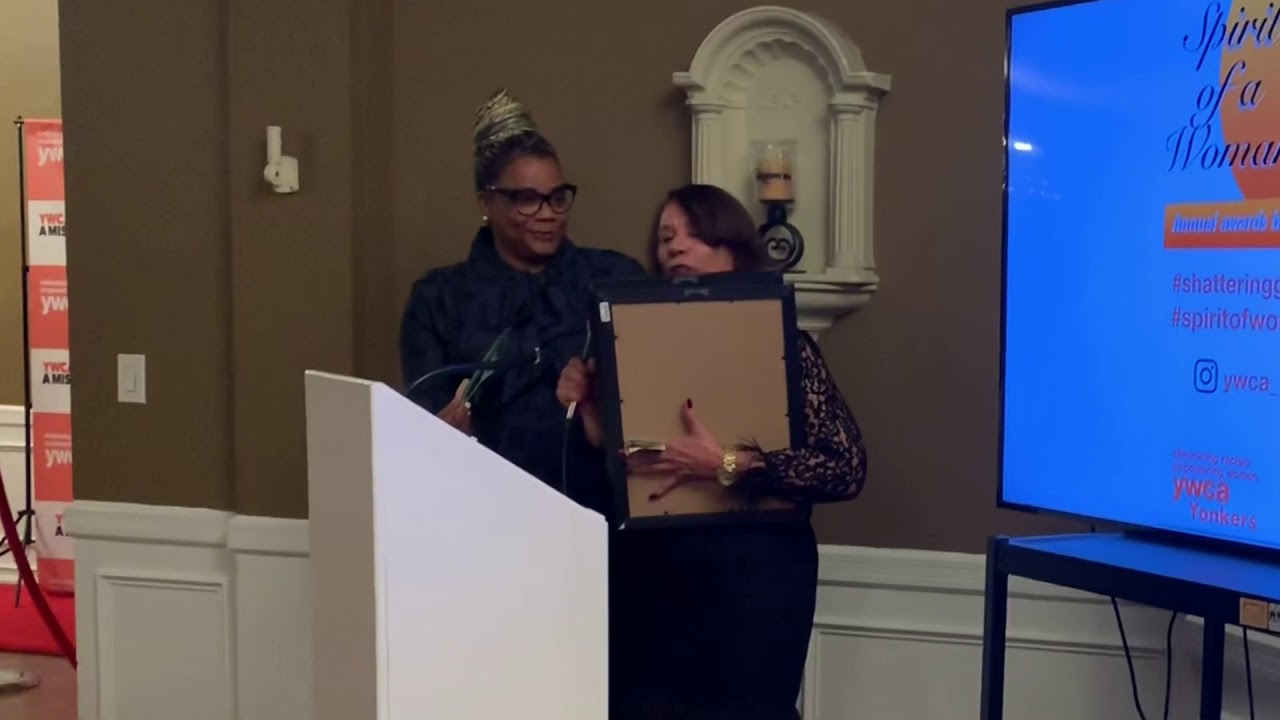 Spirit of a Woman award honoree Overseer Hazel Perry