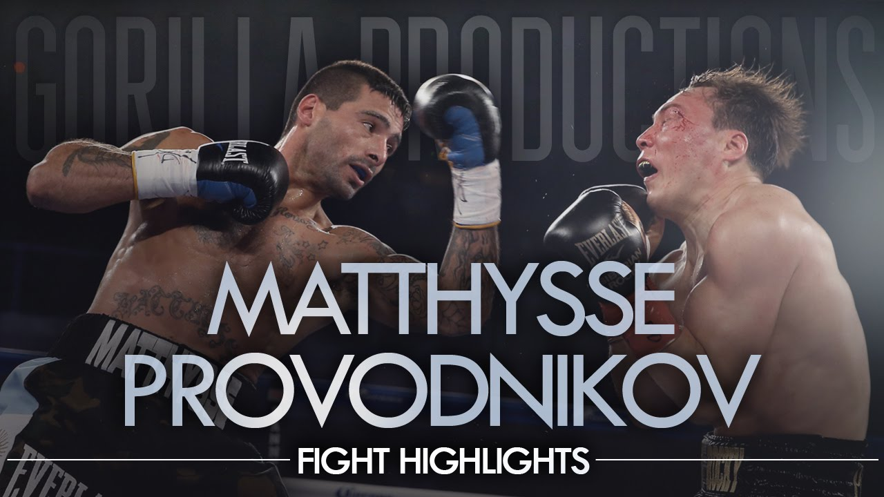 Lucas Matthysse vs. Ruslan Provodnikov (GP Highlights)