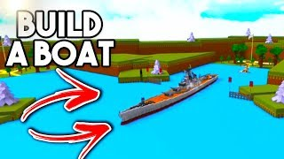 THIS BOAT WILL BLOW YOUR MIND! | Build A Boat For Treasure ROBLOX