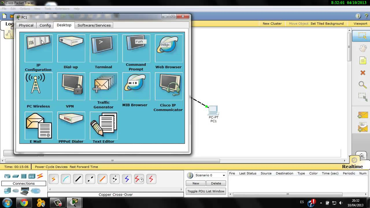 Setting up Simple Network on Cisco Packet Tracer (BASIC) - YouTube