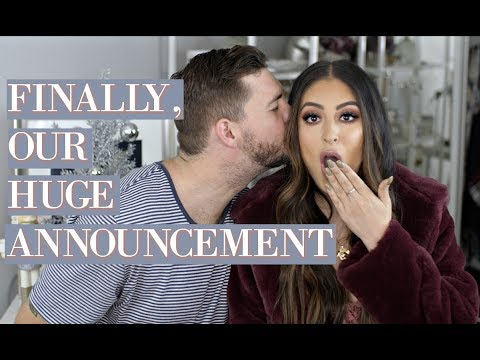 FINALLY OUR HUGE ANNOUNCEMENT!