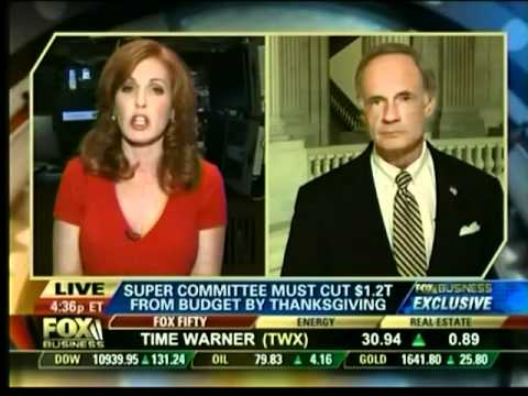 Senator Tom Carper on FOX Business