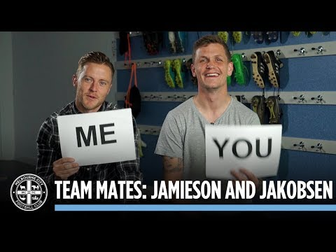 TEAM MATES: Scott Jamieson and Michael Jakobsen