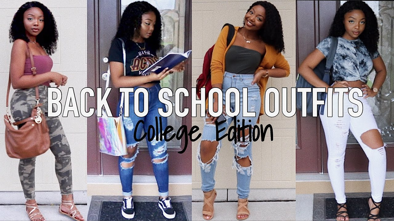 [VIDEO] - BACK TO SCHOOL OUTFIT IDEAS 2018 ? ft. Fashion Nova   ISEE Hair 5