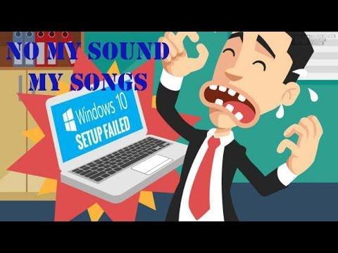 fix audio sound problem windows 10 after update work 100 youtube. Black Bedroom Furniture Sets. Home Design Ideas