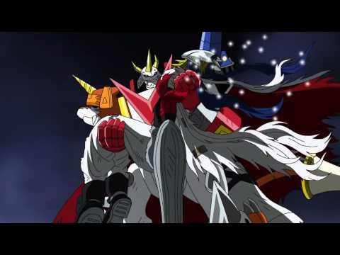 Digimon Xros Wars  Baalmon evolves to Beelzebumon HD