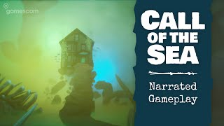 Call of the Sea - Gamescom 2020 Narrated Gameplay