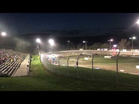 Eagle Raceway Ice Breaker 04/15/17 Modified B Feature Part4