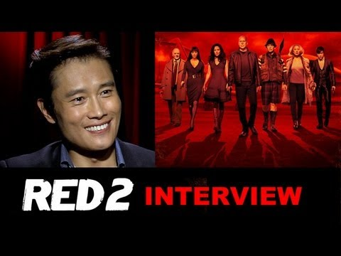 byung hun lee interview 2013 red 2 beyond the trailer