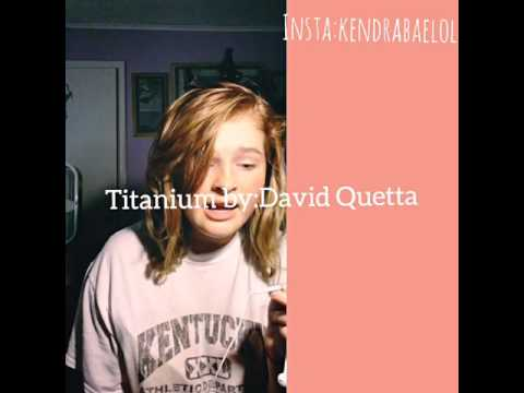 Karaoke with ME!! Titanium by: David Quetta ft. Sia!!!